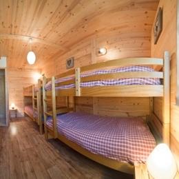 location Le Génépi - station de ski Albiez Montrond en Savoie - chambre enfants. - Location de vacances - Albiez-Montrond