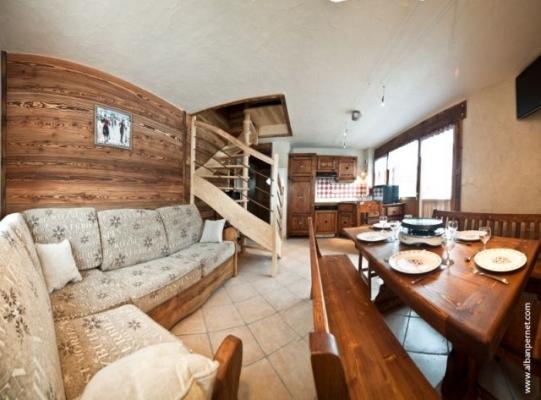 Ours 1 - Appartement 2 niveaux dans belle résidence avec piscine à Albiez Montrond - Savoie - Location de vacances - Albiez-Montrond