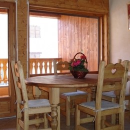 séjour terrasse - Location de vacances - Valmorel