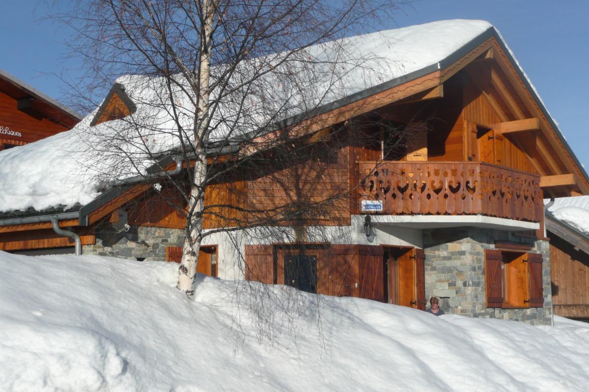 Chalet l'Hermine - La Toussuire - Savoie  - Location de vacances - La Toussuire