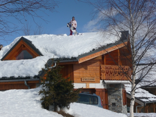 Chalet l'Hermine - La Toussuire - Savoie - séjour  - Location de vacances - La Toussuire