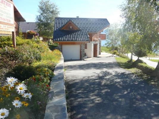 Chalet l'Hermine - La Toussuire - Savoie - salon - séjour  - Location de vacances - La Toussuire