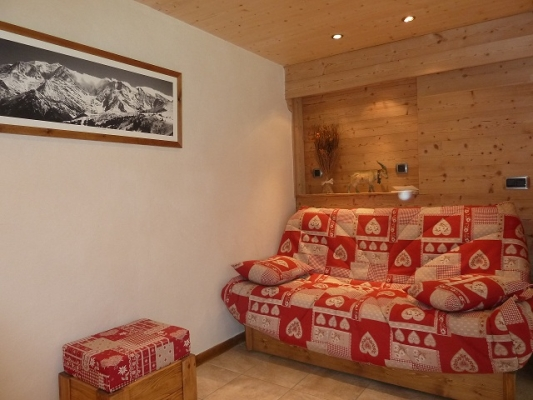 Location appartement dans chalet LA Giettaz - Location de vacances - La Giettaz