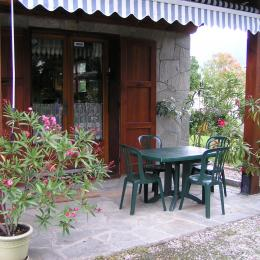 Le barbecue à l'Erablière - Location de vacances - Hauteville