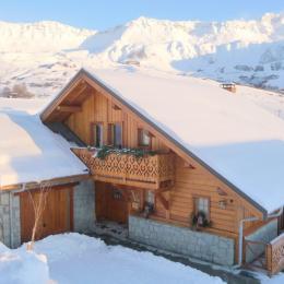 CHALET DES COQUELICOTS : Chalet tout confort de 14 personnes St François Longchamp - Savoie - Location de vacances - Saint-François-Longchamp