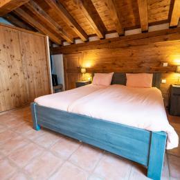 Chambre parentale - Location de vacances - Saint-François-Longchamp