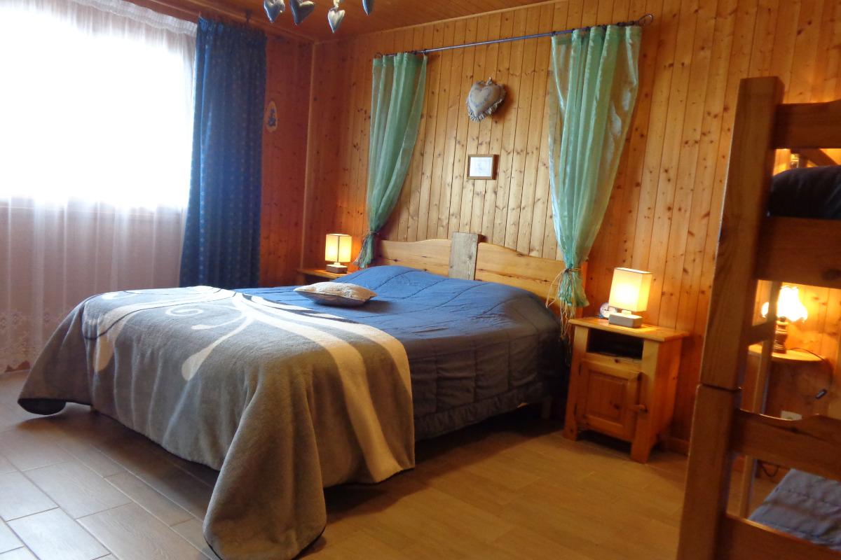 chambre 1 - Location de vacances - Notre-Dame-de-Bellecombe