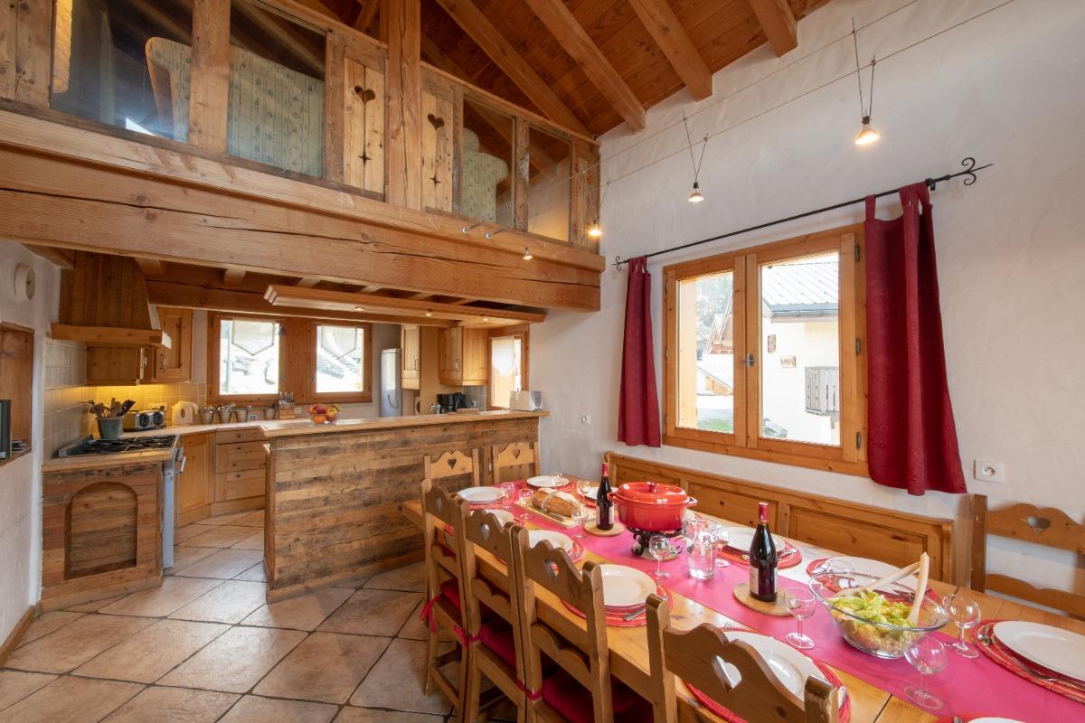 Cuisine & bar - Location de vacances - Peisey-Nancroix