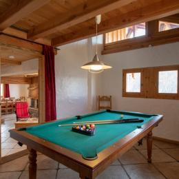 Salon - Location de vacances - Peisey-Nancroix