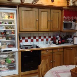 Réfrigérateur de grande capacité et congélateur  tiroirs - Location de vacances - Pralognan-la-Vanoise