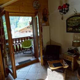 Notre coin détente avec vue montagne - Location de vacances - Pralognan-la-Vanoise