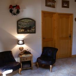 Vue sur l'escalier pour la mezzanine - Location de vacances - Pralognan-la-Vanoise