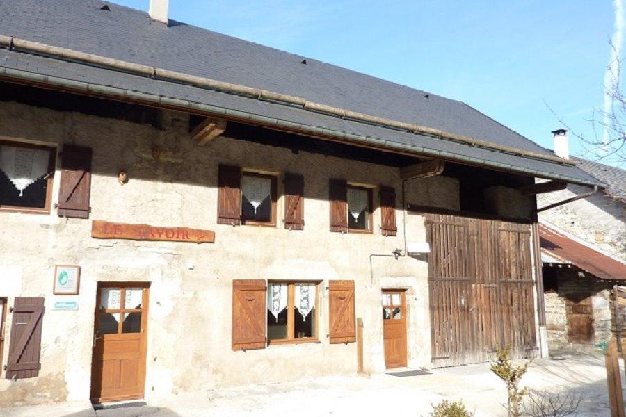 Bienvenue au Lavoir : Gîte pour 7 personnes en Chartreuse, Savoie (Saint-Jean-de-Couz, les Echelles, Chambéry) - Location de vacances - Saint-Jean-de-Couz