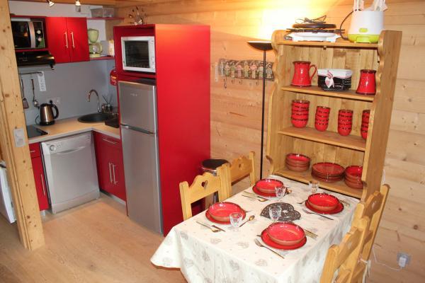 Coin cuisine et repas - Location de vacances - Saint-Pancrace