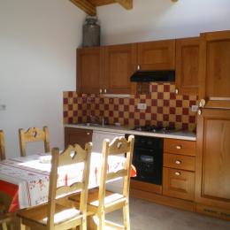 Côté cuisine - Location de vacances - Termignon