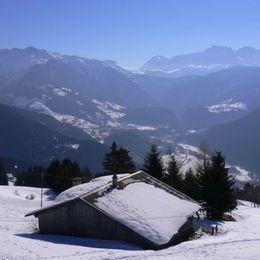 Vue du salon - Location de vacances - Villard-sur-Doron