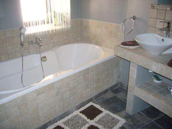 La salle de bain de la chambre d'hôtes Romance - Chambre d'hôtes - Plagne Tarentaise