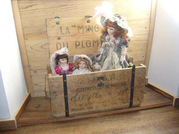 Un petit exemple de la décoration de la chambre d'hôtes Romance - Chambre d'hôtes - Plagne Tarentaise