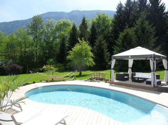 piscine de la Bageatiere - Chambre d'hôtes - Lépin-le-Lac