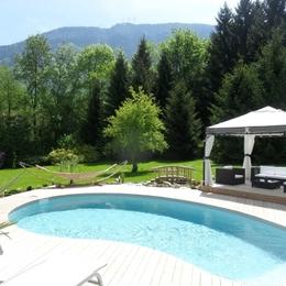 la piscine - Chambre d'hôtes - Lépin-le-Lac