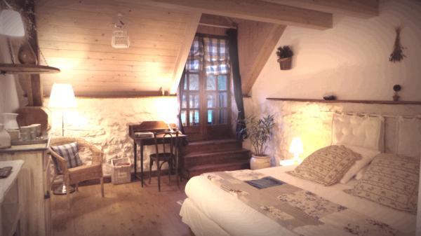 suite lavande - Chambre d'hôtes - Lépin-le-Lac