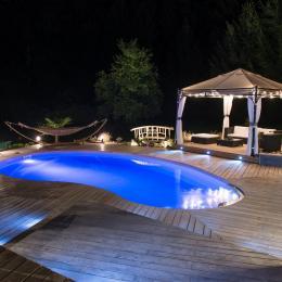 piscine - Chambre d'hôtes - Lépin-le-Lac