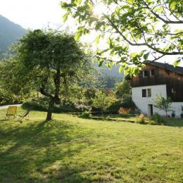 salle de bain au rez de chaussée - Location de vacances - La Compôte