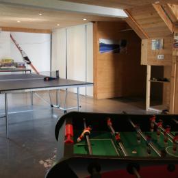 chambre 3 - 4 personnes à l'étage - Location de vacances - La Compôte