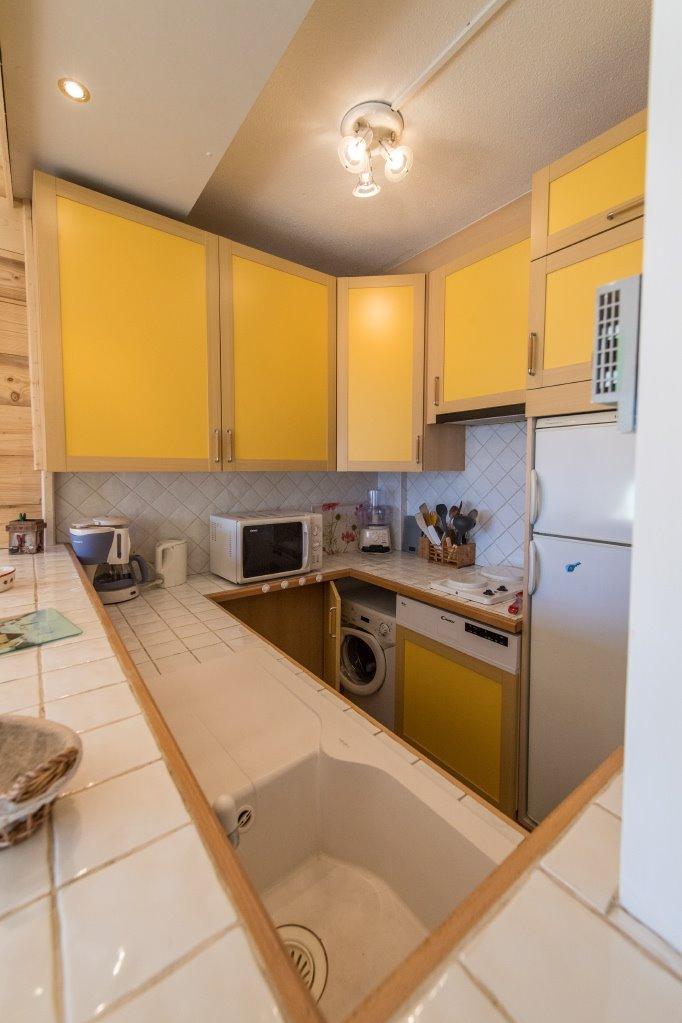 Studio Les Aiguilles n°507 - le coin cuisine - Location de vacances - La Toussuire