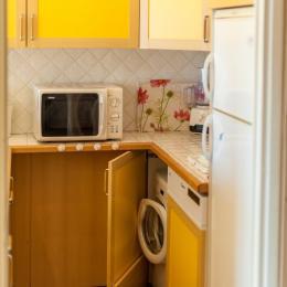 Studio Les Aiguilles n° 507 - le coin cuisine - Location de vacances - La Toussuire