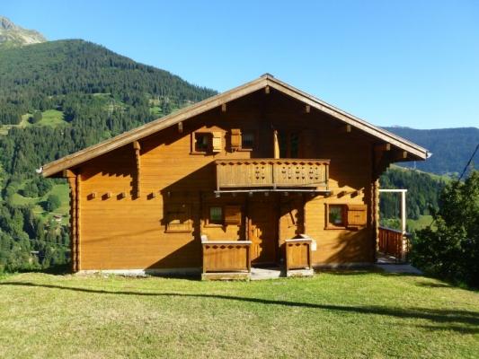 Chalet indépendant, vue Mont-Blanc, à Hauteluce en Savoie pour 8 personnes - Location de vacances - Les Saisies