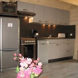 cuisine 2 - Location de vacances - Saint-François-Longchamp