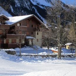 Le jardin des neiges pour les petits montagnards juste devant le chalet - Location de vacances - Pralognan-la-Vanoise