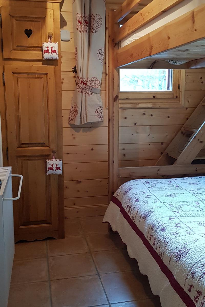 Chambre 2 lits en 140 superposés - Location de vacances - Pralognan-la-Vanoise