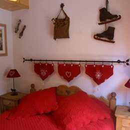 Chambre parentale - Location de vacances - Pralognan-la-Vanoise