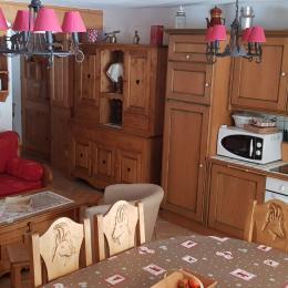 Pièce à vivre - Location de vacances - Pralognan-la-Vanoise
