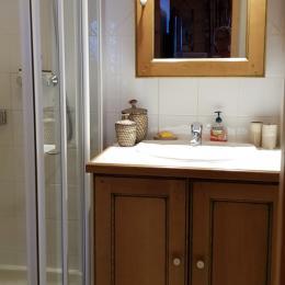 salle d'eau  - Location de vacances - Pralognan-la-Vanoise