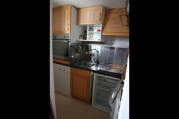 Appartement à louer pour vos vacances aux Menuries - coin cuisine - Location de vacances - Les Menuires