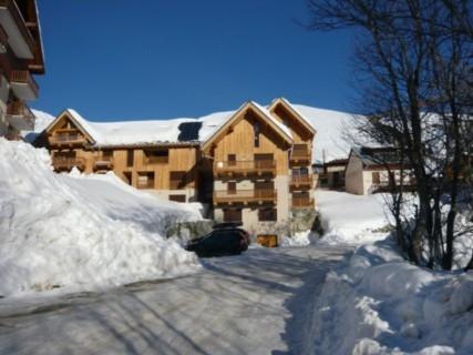 appartement dans résidence - station de ski Saint Sorlin d'Arves - Les Sybelles   Résidence Chalet de Pierre Aigüe Saint Sorlin d'Arves  - Location de vacances - Saint-Sorlin-d'Arves
