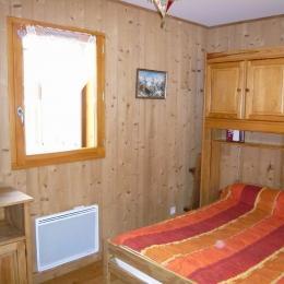 Résidence Les Chalets de Pierre Aiguë - station de ski  Saint Sorlin d'Arves - domaine les Sybelles en Savoie - La chambre  - Location de vacances - Saint-Sorlin-d'Arves