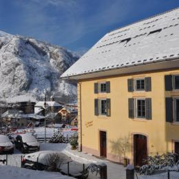 Maison située au centre du village, skis aux pieds - Location de vacances - Valloire