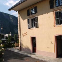 Vue depuis la maison - Location de vacances - Valloire