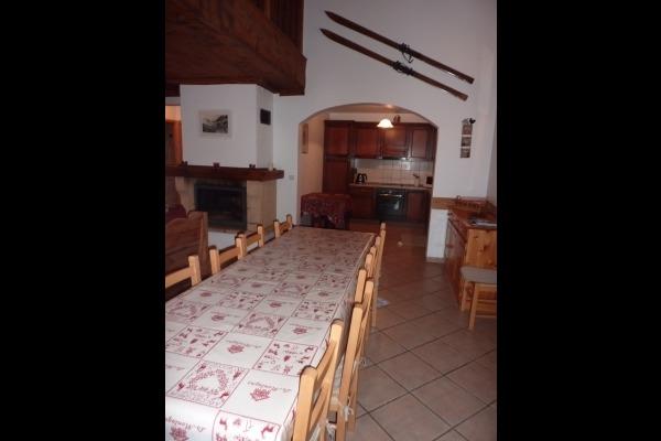 chambre double 1 - Location de vacances - Valloire