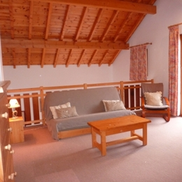 mezzanine : clic-clac 2 pers - Location de vacances - Valloire