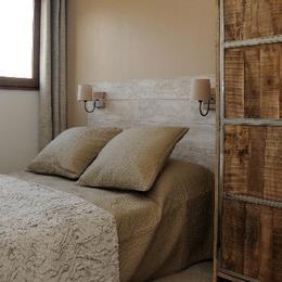 appartement station de ski La Toussuire en Savoie -  résidence Chaput - chambre - Location de vacances - La Toussuire