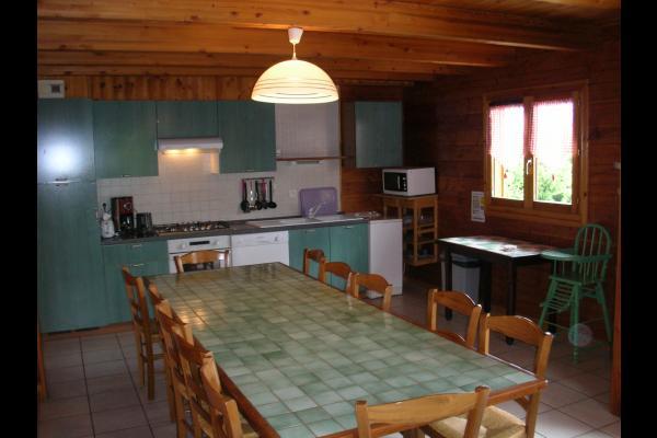 Appartement La Fromentière - Station de ski la Toussuire -  Cuisine - Location de vacances - La Toussuire