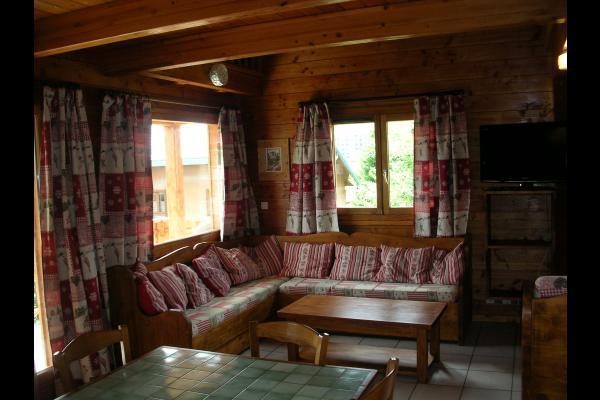 Appartement la Fromentière - Station de ski la Toussuire - Séjour  - Location de vacances - La Toussuire