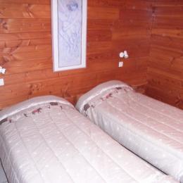 Appartement la Fromentière 12 - Station de ski la Toussuire - Chambre 1 - Location de vacances - La Toussuire