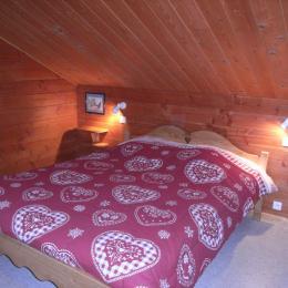 Appartement la Fromentière 12 - Station de ski la Toussuire - Chambre double - Location de vacances - La Toussuire