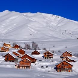 Espace salon - Chalet La Morinie - appartement Maurienne - La Toussuire en Savoie  - Location de vacances - La Toussuire
